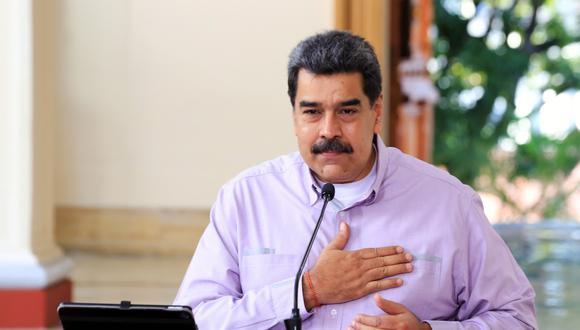 Nicolás Maduro, presidente venezolano. (Foto: EFE)