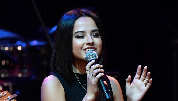 Becky G se suma a la Fundación Latin Grammy para dar charlas sobre música. (Foto: AFP)