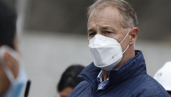 Alcalde de Lima cuestionó el mensaje sobre el gas de Camisea emitido por Guido Bellido. (Foto: Jorge Cerdán /@photo.gec)