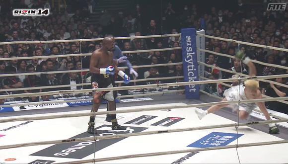 Trabajo extremadamente fácil para Floyd Mayweather, quien venció a su contrincante apenas 42 segundos después del inicio de la pelea. (Video: YouTube)