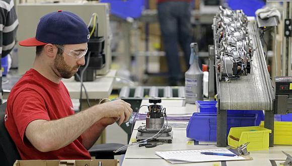 La manufactura de EE.UU. alcanzó su mayor avance en tres años