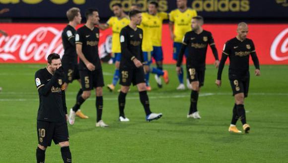 Barcelona tiene dos partidos pendientes en LaLiga de España. (Foto: AFP)