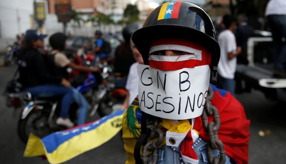 Venezuela celebra su Día de la Independencia con protestas en las calles. (Foto: Reuters)