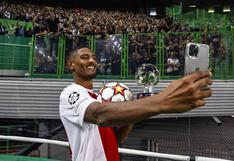 Haller es el segundo jugador en la historia de Champions que anota cuatro goles en su debut | VIDEO