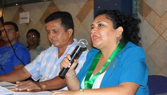 Concejo de Tumbes le otorga licencia a alcaldesa prófuga
