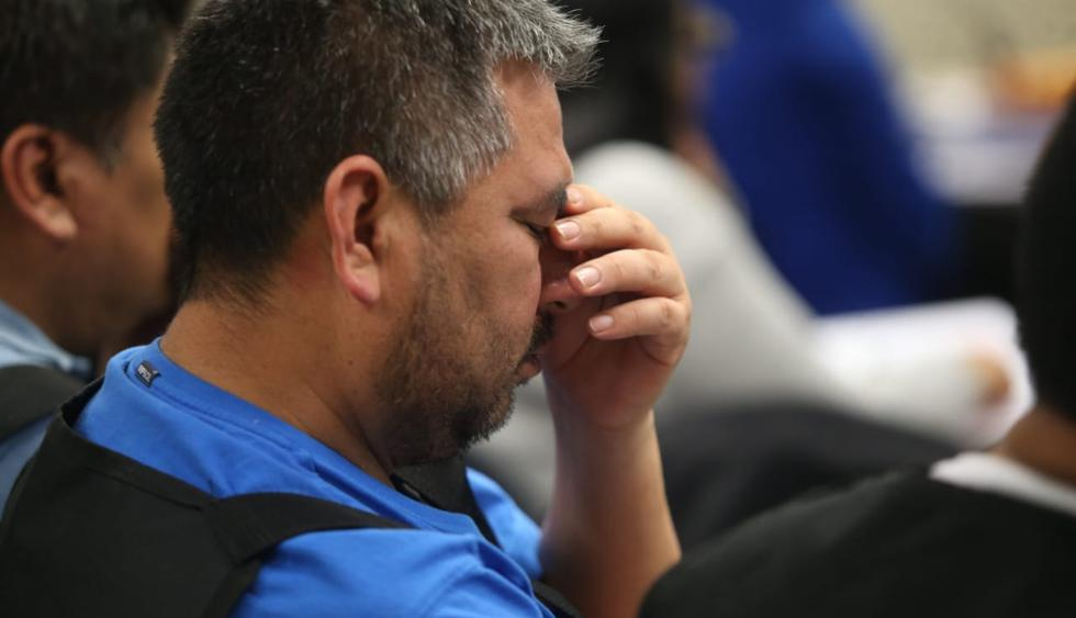 Este miércoles se retomó la audiencia contra los presuntos miembros de la organización criminal Los Intocables Ediles, investigados por corrupción. (Foto: Hugo Pérez / El Comercio)