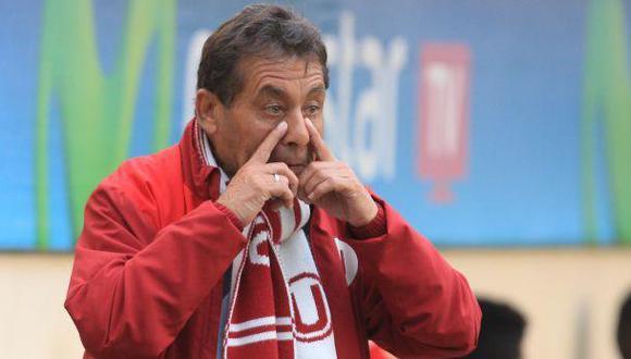 Roberto Chale mostró su pesar por salida de Raúl Ruidíaz