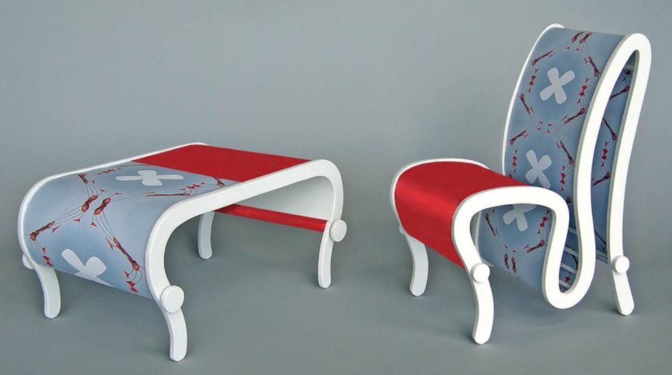 Estos muebles cambian de color con solo girar una perilla - 1