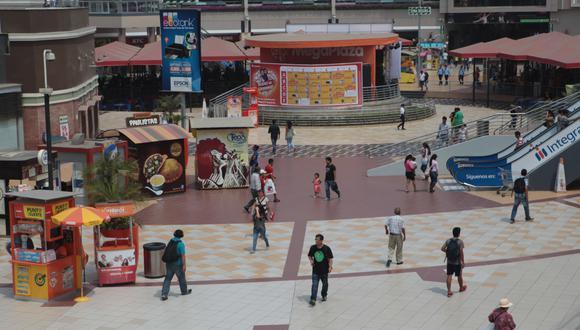 Los malls abrirán con aforo reducido. (Foto: GEC)