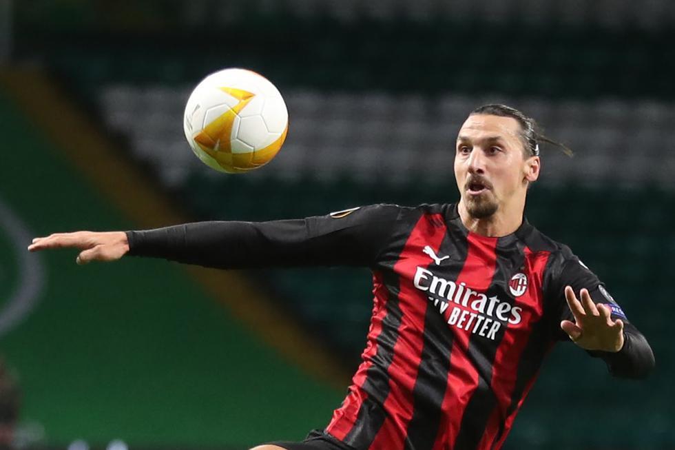 AC Milan consiguió una buena victoria por 3-1 en cancha del Celtic por la fecha 1 de la Europa League 2020-2021. (Foto: AFP)