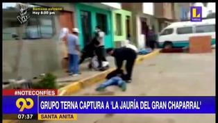 """Santa Anita: PNP captura a """"La Jauría del Gran Chaparral"""" con 720 envoltorios de cocaína"""