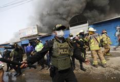 Incendio en 'La cachina': Municipalidad de San Juan de Lurigancho anuncia la clausura definitiva del mercado