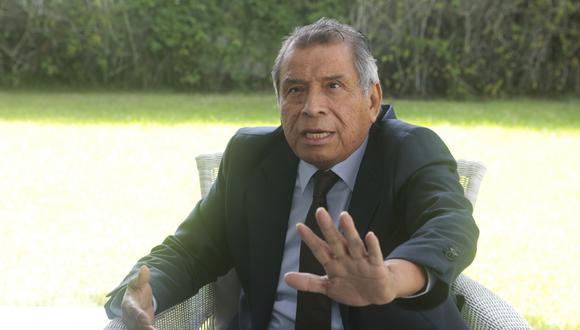 Ricardo Márquez, presidente de la SNI. (Foto: GEC)