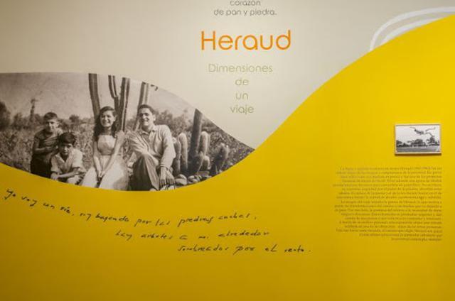 Heraud. Dimensiones de un viaje propone un recorrido por el universo poético y vital de Javier Heraud. (FOTO: Casa de la Literatura).
