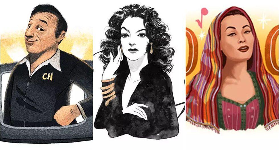 A propósito de Chespirito: los doodles de Google dedicados a latinos famosos. (Captura de pantalla)