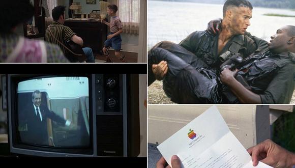 """Las referencias históricas en """"Forrest Gump"""", la cinta cumple 25 años. (Captura de pantalla)"""