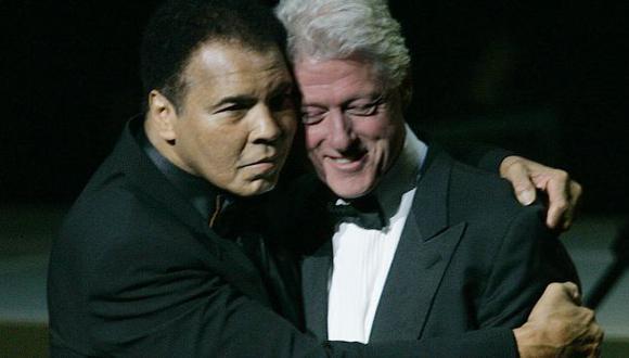 Bill Clinton y el mensaje de adiós a su amigo Muhammad Ali