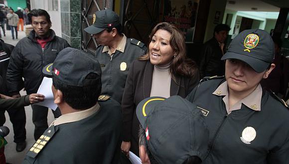 Blanca Paredes fue capturada en operación contra red Orellana
