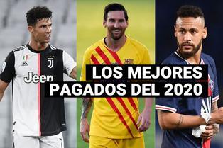 Los 10 futbolistas mejores pagados del 2020, según Forbes