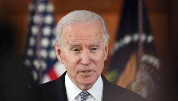 El presidente de Estados Unidos Joe Biden. (Foto: Eric BARADAT / AFP).