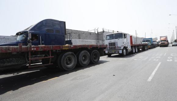 Transportistas tienen una propuesta ante plan 'pico y placa' para camiones. (Foto: GEC)