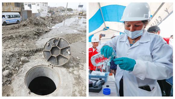 Evaluarán la concentración del coronavirus en los desagües de Lima Metropolitana, informó el Ministerio de Vivienda. (Foto: GEC/MVCS)