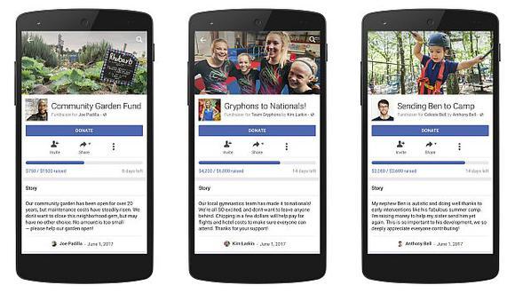 """El anuncio se debe a la expansión de grupos de personas que tienen la opción de recaudar dinero a través del servicio de Facebook """"Recaudaciones de Fondos"""".  (Foto: AP)"""