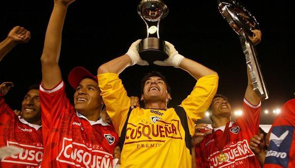 Cienciano del Cusco ganó la Copa Sudamericana el 19 de diciembre del año 2003. (Foto: GEC).