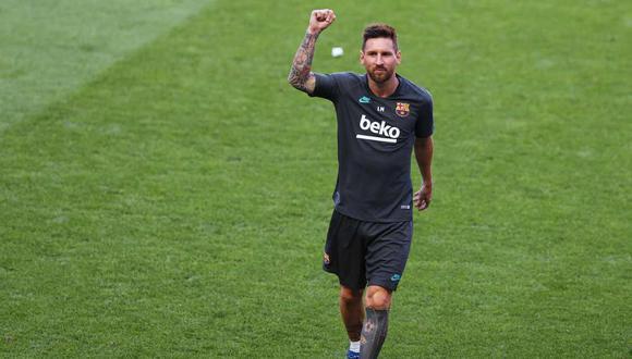 PSG siguió el caso de Lionel Messi y Barcelona. (Foto: EFE)