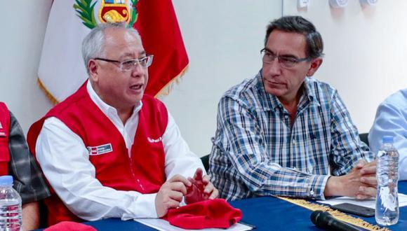 Vizcarra, según fuentes consultadas por El Comercio, se tomará su tiempo, como en oportunidades anteriores, para designar al reemplazante de Liu Yonsen en el Minem. (Foto: Minem)