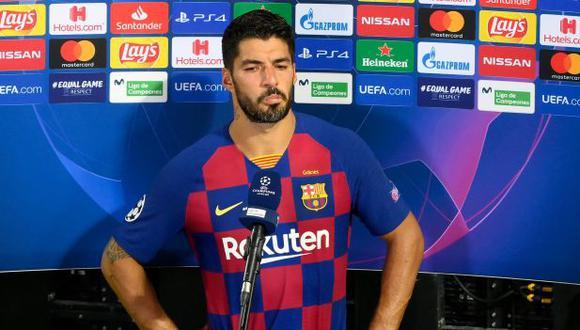 Luis Suárez es el tercer goleador histórico del Barcelona, con 197 anotaciones. (Foto: AFP)