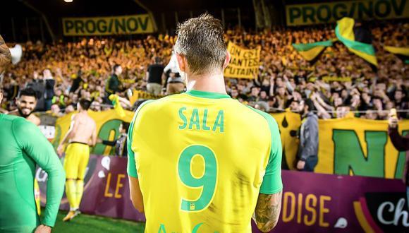 El tributo a Sala se dará en la recepción del Nantes al Bordeaux por la Ligue 1. (Foto: Nantes)