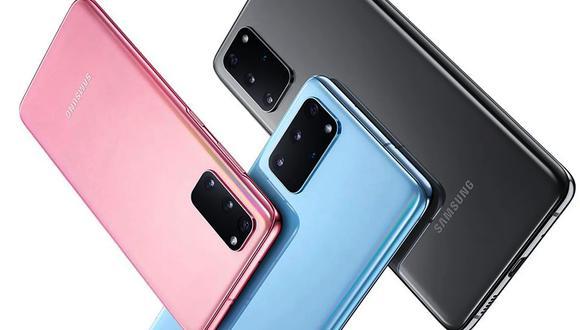 Conoce las características y el precio oficial del Samsung Galaxy S20. (Foto: Samsung)