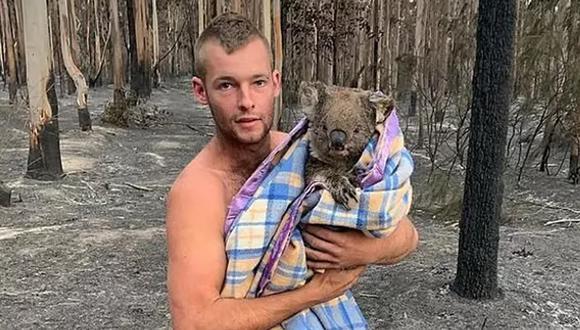 Este es Patrick Boyle, el conocido cazador de 22 años que dejó de hacer esto tras ver sufriendo a un pequeño koala por los incendios que azotan Australia en estos momentos. (Foto: Instagram PB)