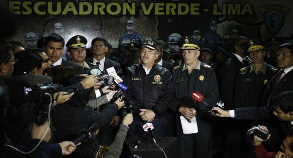 La Policía Nacional tendrá una dirección de lavado de activos