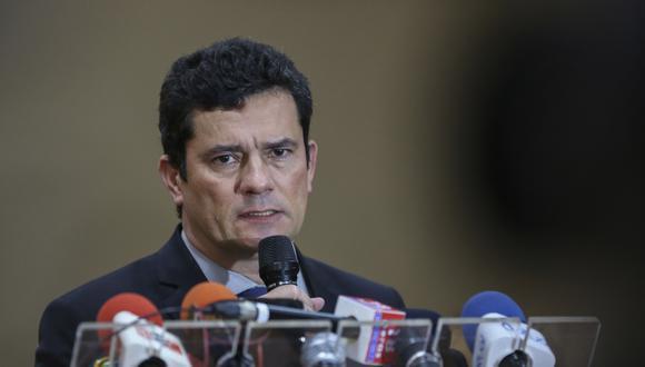 Sergio Moro y fiscales buscan contener escándalo por filtraciones en Brasil. Foto: AFP