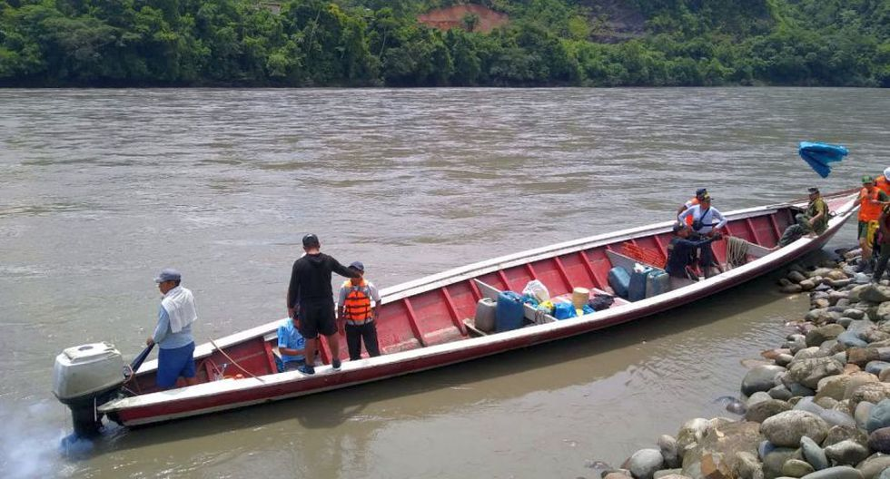 Las autoridades encontraron nueve cuerpos sin vida de las personas desaparecidas tras el naufragio de una embarcación ocurrido el viernes en el río Inambari a la altura del centro poblado Puerto Manoa, en la provincia de San Gabán (Foto: cortesía)