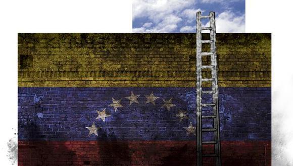 """""""Por esa misma razón se derrumbará el régimen de Nicolás Maduro que, en su afán de controlar, termina perdiendo todo el control"""". (Ilustración: Giovanni Tazza)"""