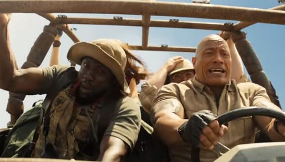 """""""Jumanji: The Next Level"""" presentó su tráiler final con divertidas secuencias. (Foto: Captura de YouTube)"""