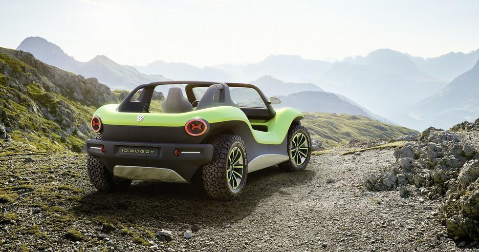 El I.D. Buggy es un concepto futurista de Volkswagen. (Foto: Difusión)