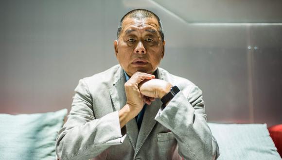 Jimmy Lai ya fue arrestado en agosto de este año. AFP / Anthony WALLACE