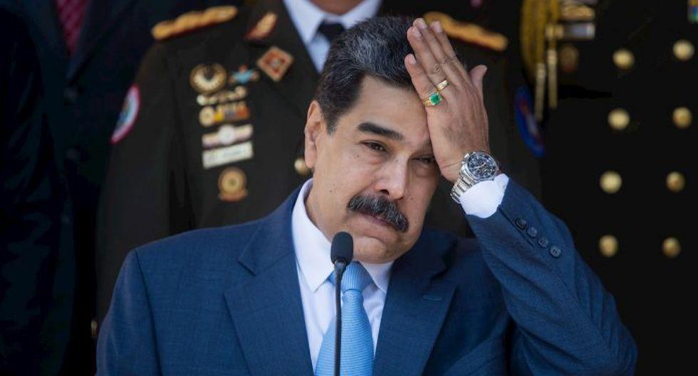 El secretario de Estado de Estados Unidos, Mike Pompeo, presentó el martes el plan llamado Marco Democrático para Venezuela, que contempla un gobierno de transición sin Maduro ni Juan Guaidó en el tablero | EFE / Miguel Gutiérrez