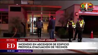 Lince: más de 50 personas fueron evacuadas de un edificio tras incendio en el piso 17