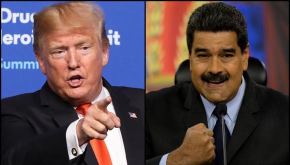 Con qué sanciones Donald Trump intenta asfixiar al régimen Nicolás Maduro. Fotos: AFP