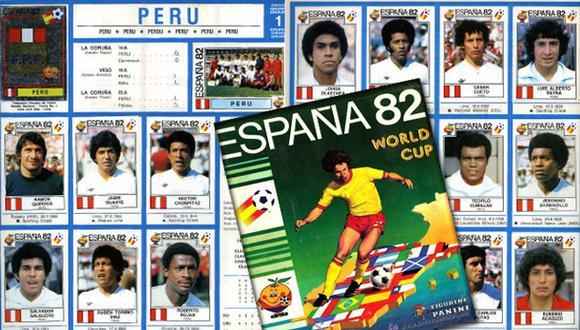 España 82: la página del último álbum de figuras que ocupó Perú