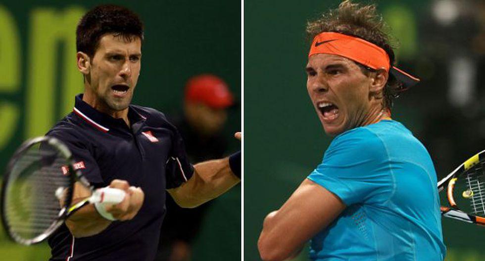 Nadal vs. Djokovic: chocan en semifinal de Doha, pero en dobles