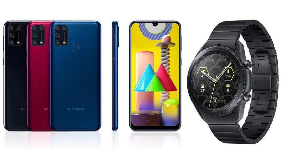 Samsung completa sus portafolios en las familias Galaxy A y Galaxy M, lanza el nuevo S20 FE y presenta el Galaxy Watch 3 Titanium en el Perú. (El Comercio)