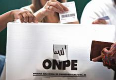 ONPE: esta es la función de los miembros de mesa en las Elecciones 2018