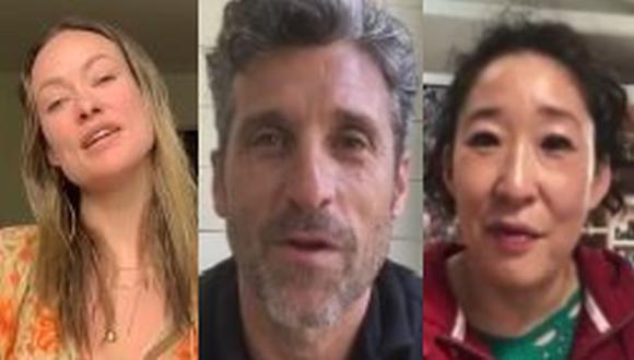 Actores que encarnaron a médicos en la TV agradecen a los de verdad por su labor. (Foto: Captura de video)