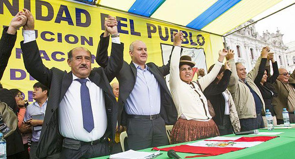 Disidentes de Gana Perú se unen a fonavistas para elecciones